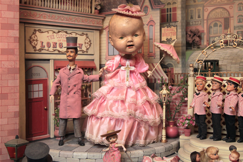 The Gay 90's: West<br> Source: https://www.markryden.com/paintings/gay_90s_west/diorama.html