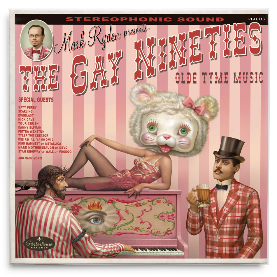 The Gay Nineties Olde Tyme Music <br>  Source: https://www.markryden.com/paintings/gay_90s_west/olde-tyme-music.html