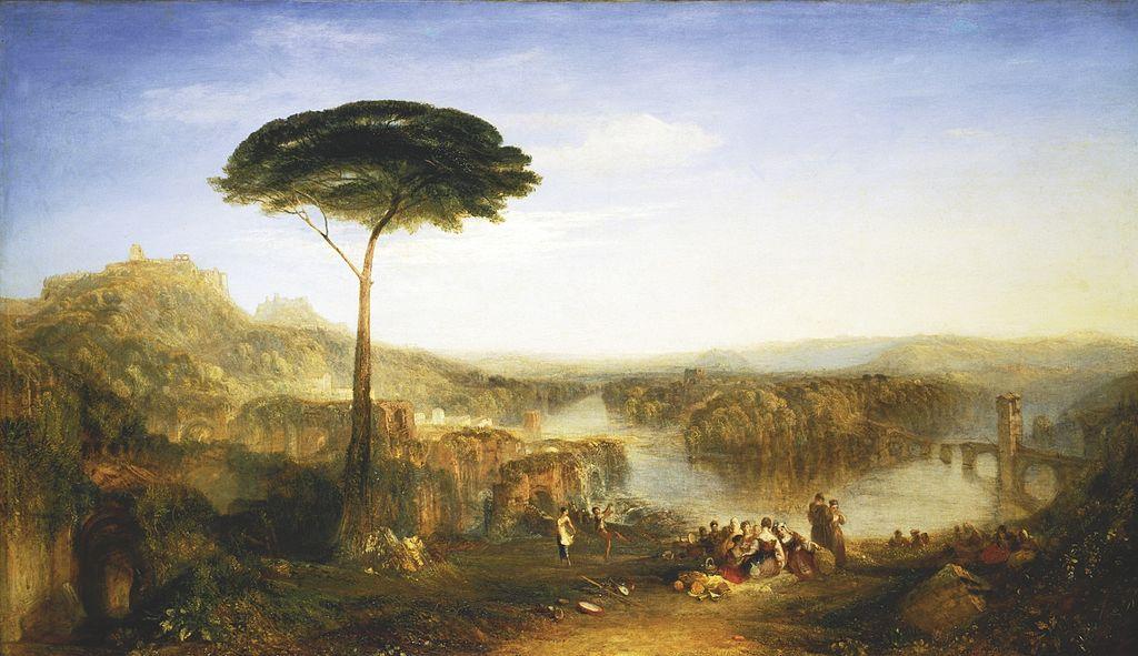 《哈洛德公子遊記——意大利》,透拿畫於 1832 年或以前。