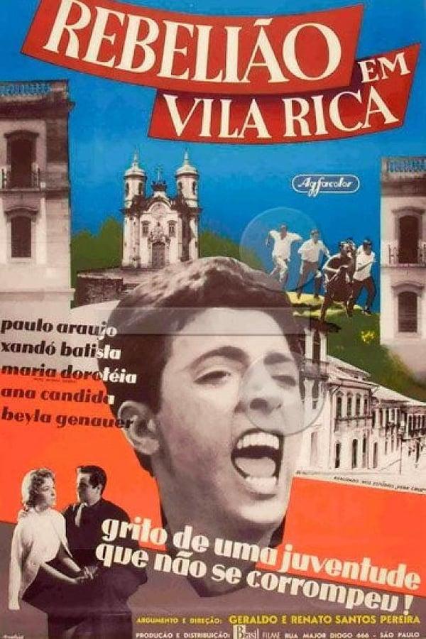 《里加鎮起義》(Rebelião em Vila Rica)電影海報 (source: IMDB)