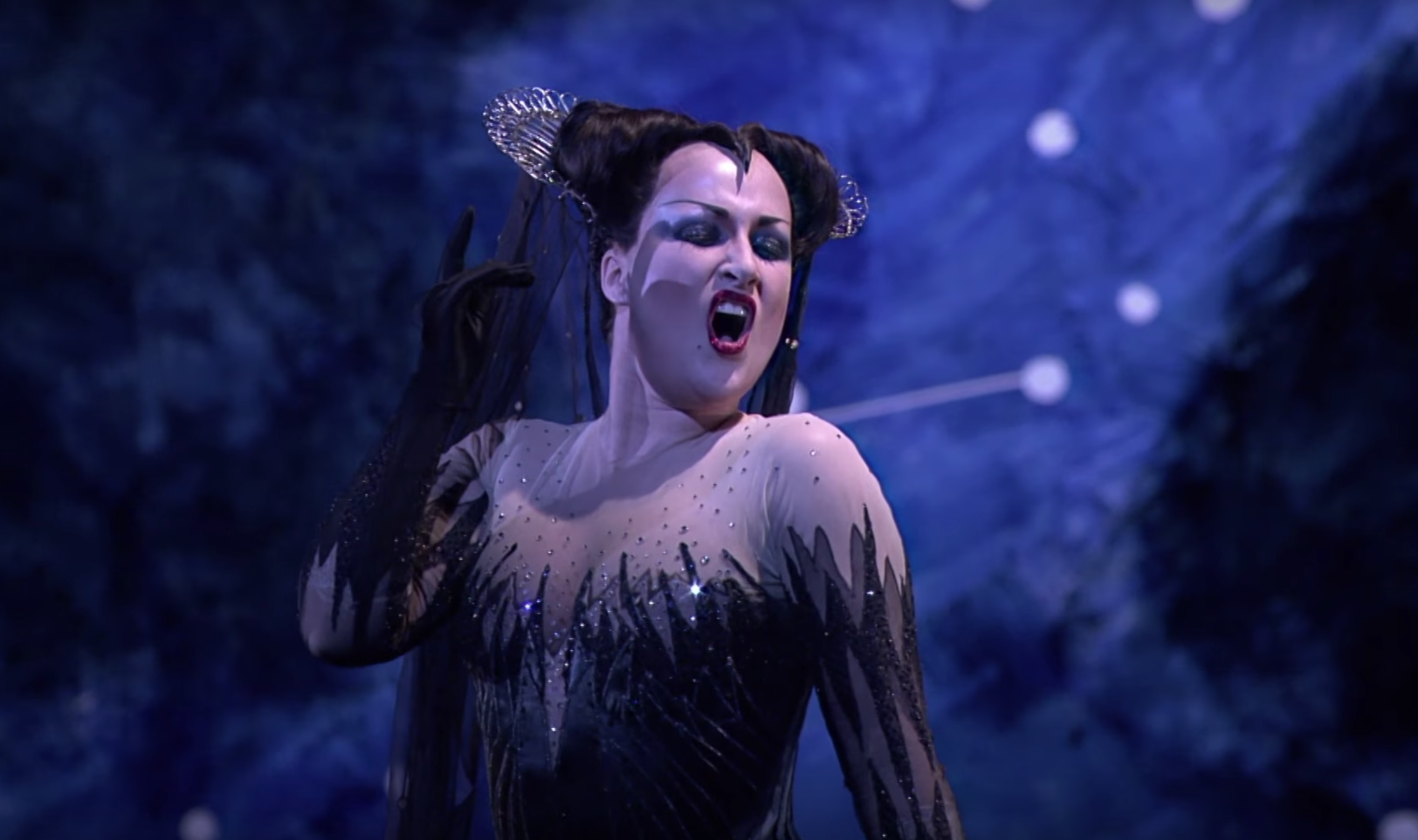 Diana Damrau as Königin der Nacht, Royal Opera House © Diana Damrau