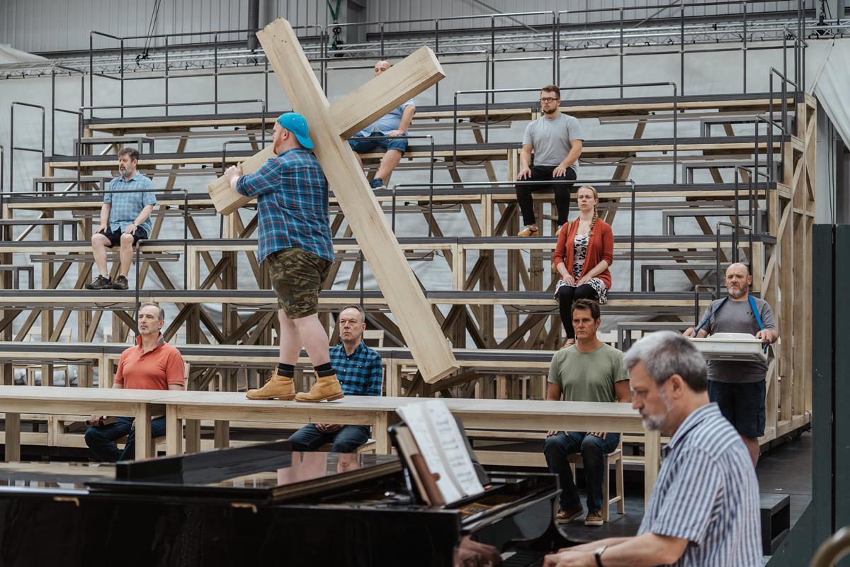 英國列斯北方歌劇院彩排馬天奈《希臘受難曲》 © Tom Arber