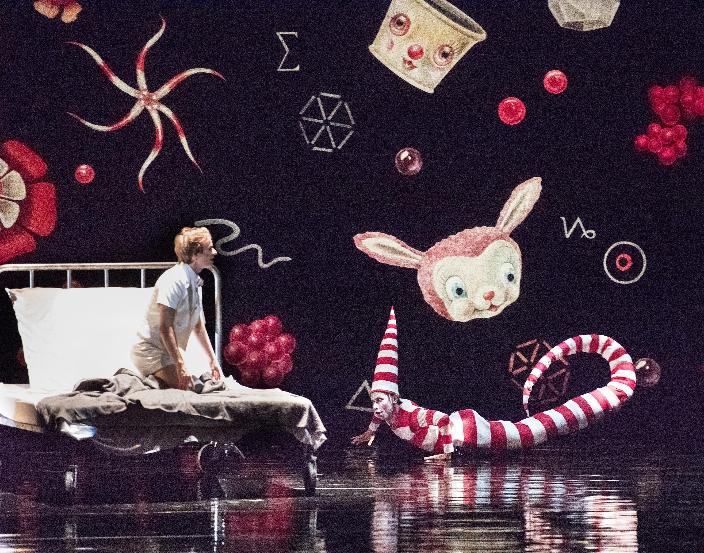於2018年香港藝術節上演的美國芭蕾舞劇院《芭蕾小忌廉》(拍攝:Gene Schiavone)