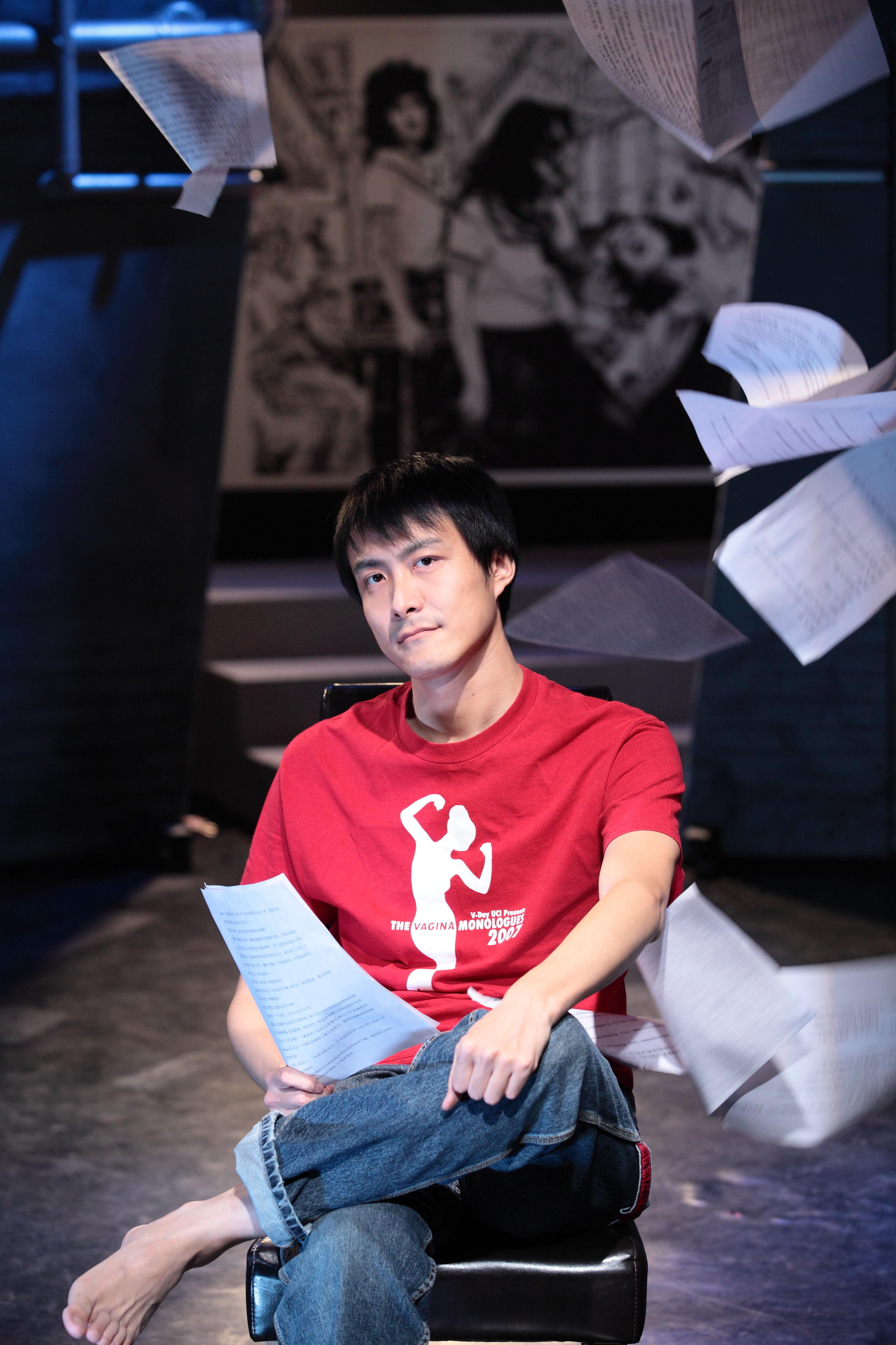 From previous remakes of the classics to <i>The Plague</i>, Wang has enlivened the works with his sensitivity to and observation of contemporary society © Zhou Jing