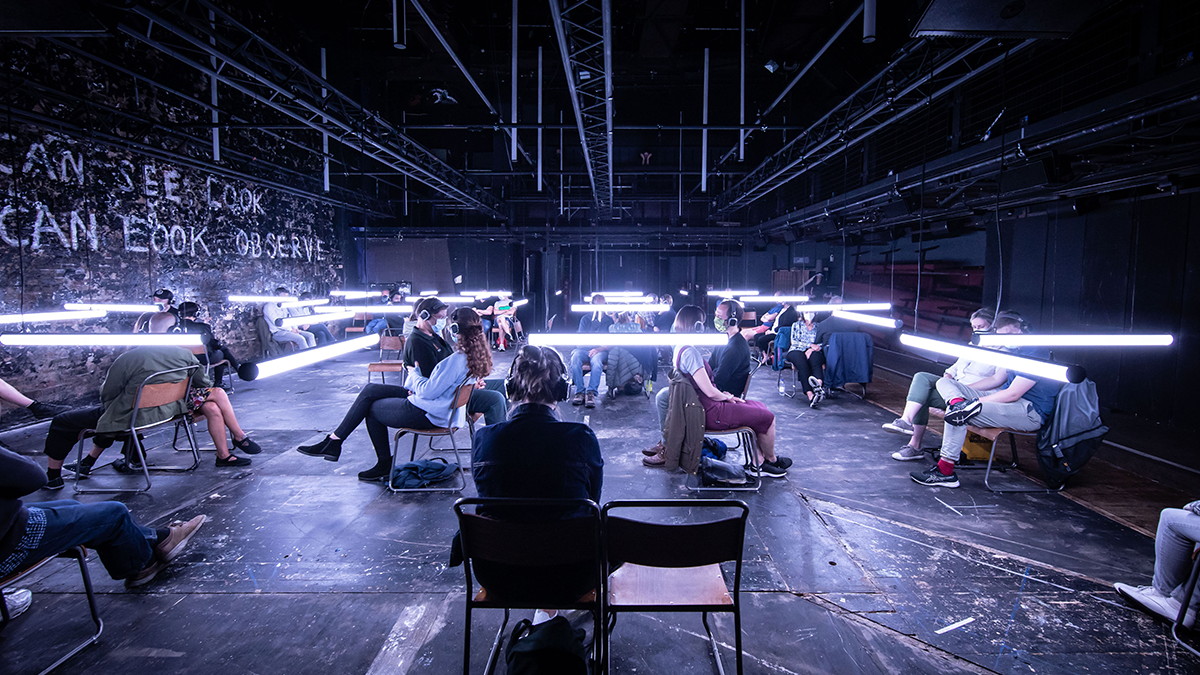 The Donmar Warehouse production of <i>Blindness</i>